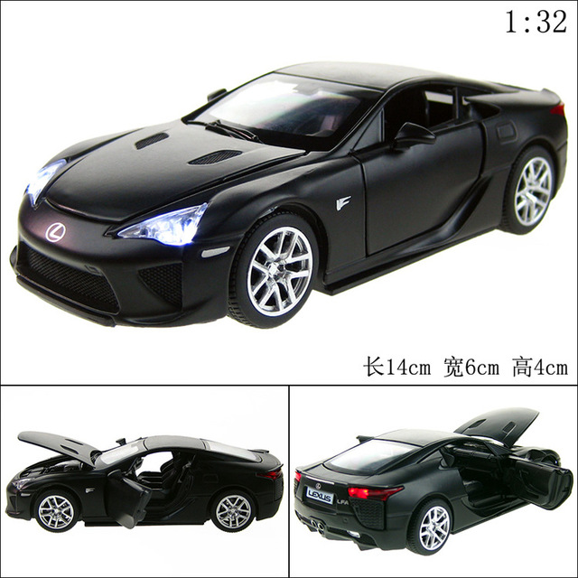 2016 NEW JY 1:32 Diecast Alloy Car Model LFA Toy Metal Material Vehicles  Car Toy Collectible Model Cars
