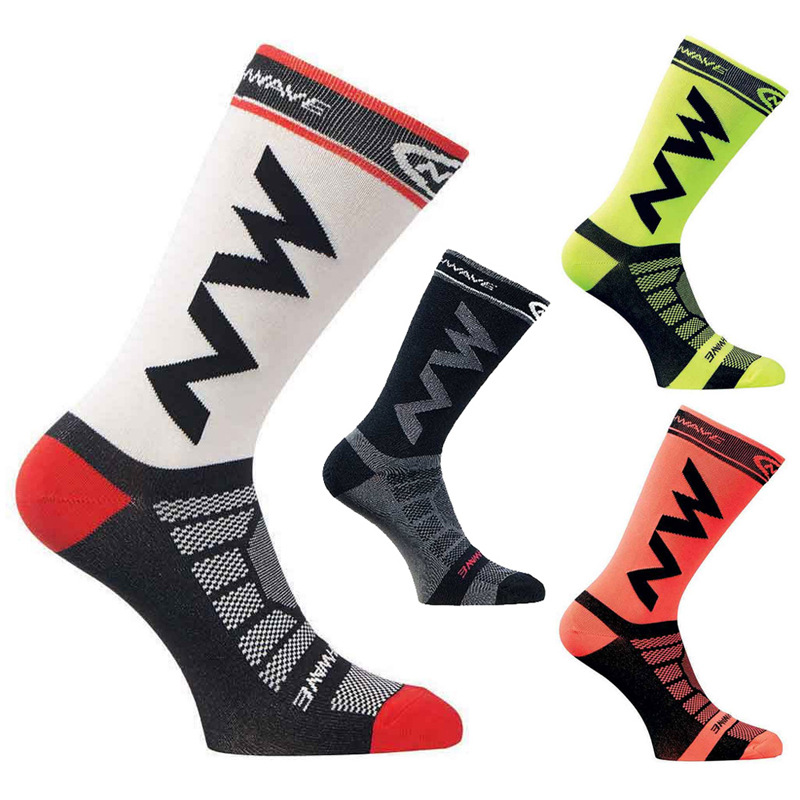 High Quality Professional Brand Sport Socks Protect Feet Breathable Wicking Socks Long Secti Cycling Socks Bicycles Socks