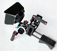 Aluminium Alloy Camera Video Cage Kit with Top Handle Grip for Nikon Pentax Canon Olympus DSLR SLR