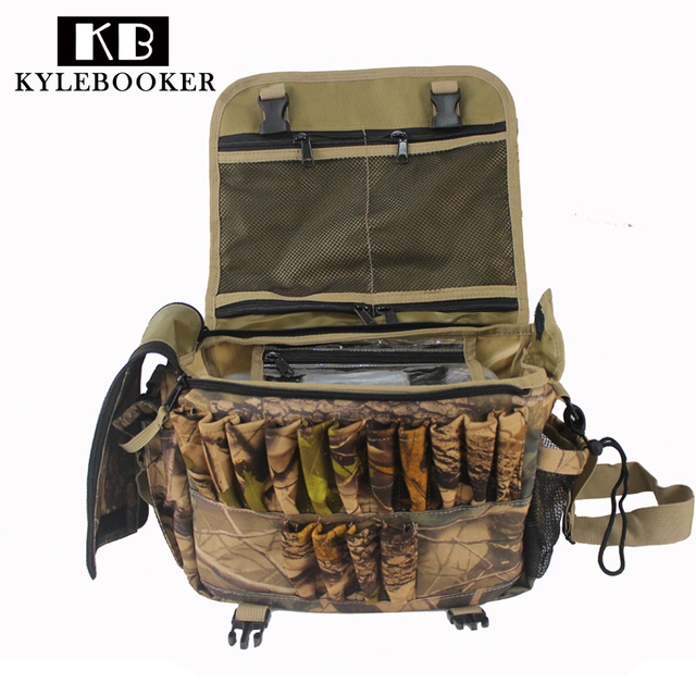 Outdoor Multi Functional Molle Shoulder Ammo Pouch Tactical Hunting Bag Fishing Bags Bullet Shooting