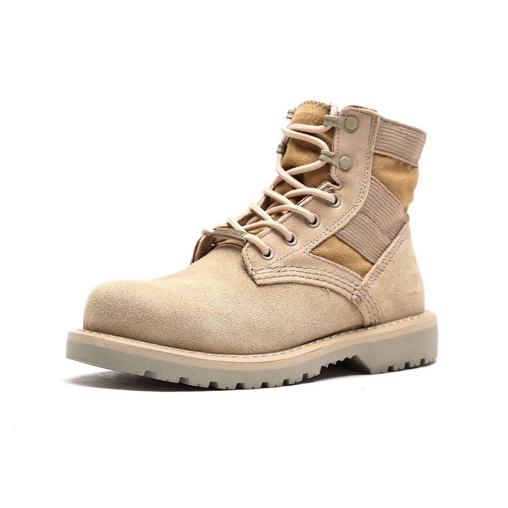 Otto 남자 팔라듐 스타일 2018 높은 정상 군사 발목 부츠 캐주얼 캔버스 신발 편안한 가죽 모피 부츠 크기 39 48-에서남성용 경화 신발부터 신발 의  그룹 1
