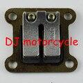 High performance pocket bike Reed valve 33cc 47cc 49cc   Mini motocross reed valve block metal wholesale  2 stroke mini Quad