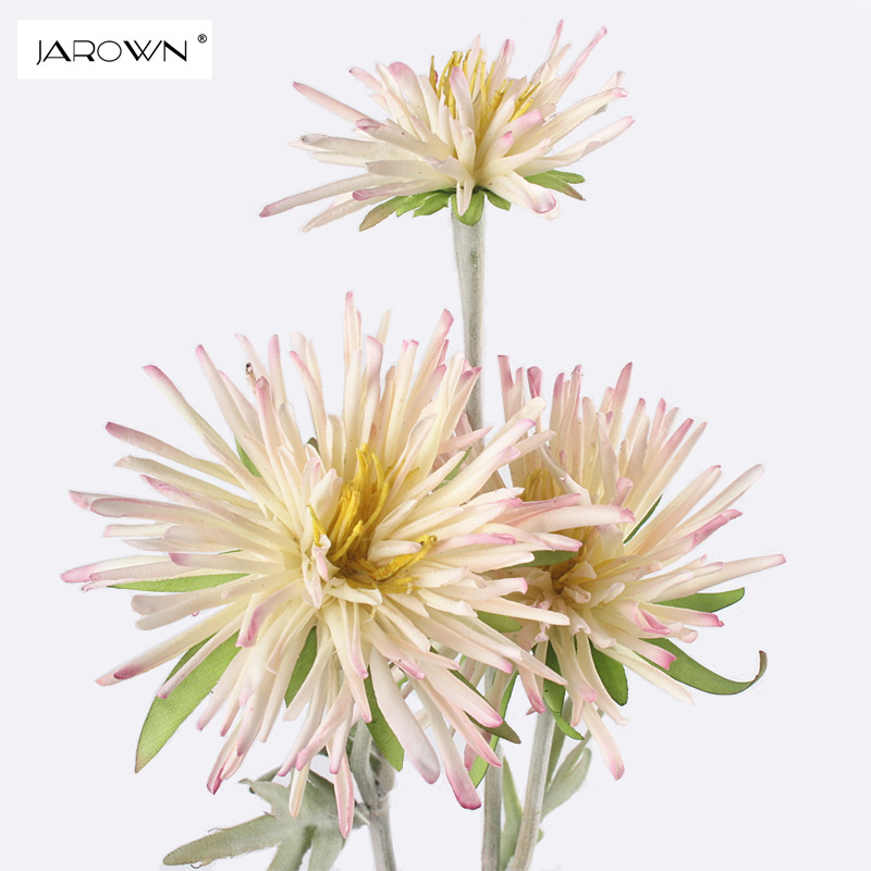 JAROWN штучна хризантема квітка dasiy букет підроблені шовкові квіти прикраса для весілля готельний номер партія аксесуар