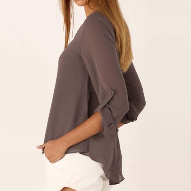 Женские блузки и Рубашки 2017 V