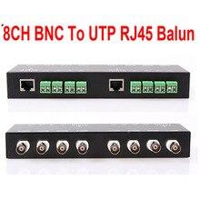 Прямые продажи специальное предложение 8ch пассивный видео балун Bnc к Utp Rj45 Cat5 камера Dvr трансивер