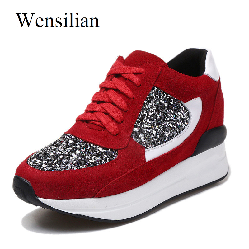 Designer Women Sneakers Wedges Female Summer Flats Casual Creepers Platform Leather Shoes Woman Zapatos Mujer phyanic 2017 summer gladiator sandals straw platform creepers silver shoes woman buckle casual women flats shoes phy4046