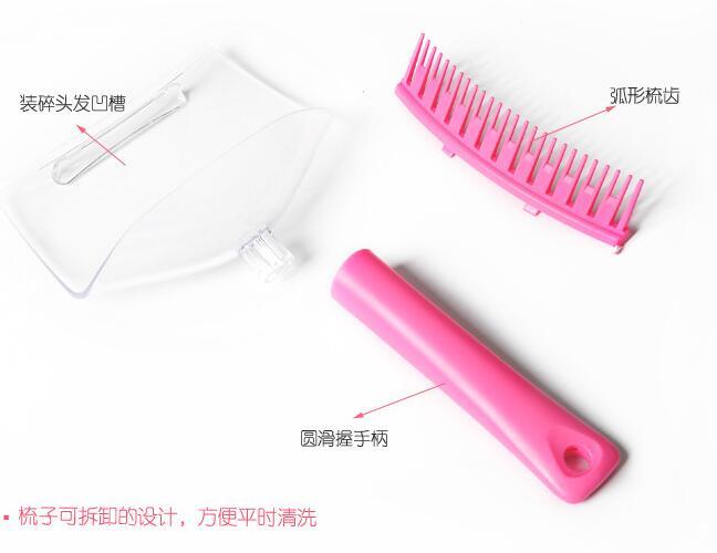 DIY Hair Bangs Fringe Cut Comb Clip Home Fashion Portable Trimmer Tool Kit Clipper Guide