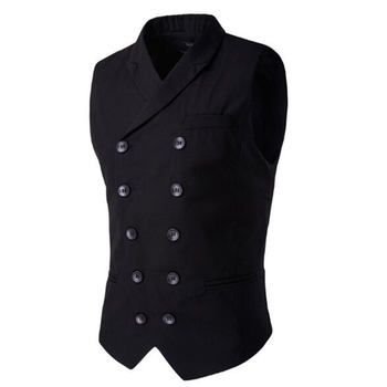 Vests Formal Casual Business Suits Blazer Male