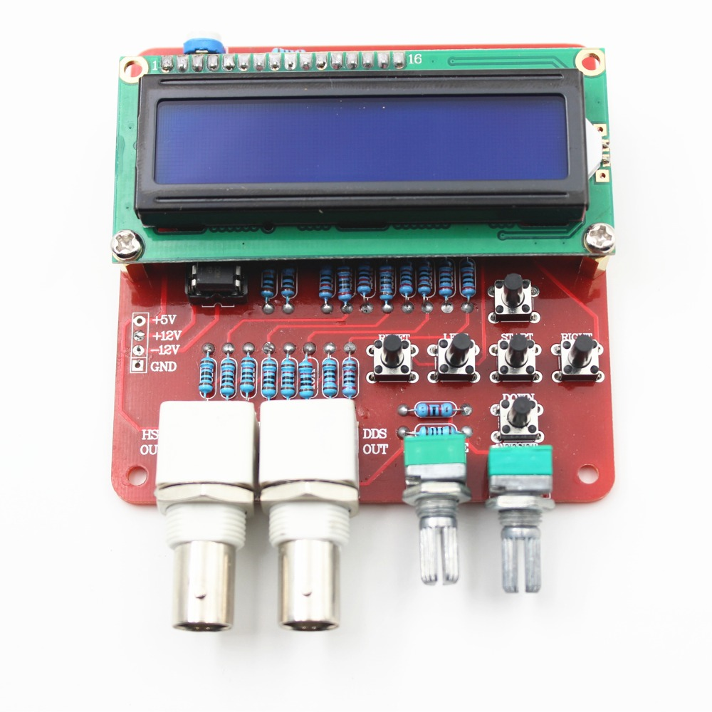 DDS Function Signal Generator DIY Kit Frequency Generator Square Sawtooth Triangle Wave DIY Parts Signal Source Components