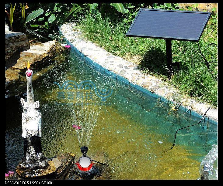 Brushless Motor Solar Fountain Solar submersible pumps amorphous silicon solar fountain garden fountain 11.5V4W 250L/H 3 years guarantee solar irrigation pump submersible solar pumps