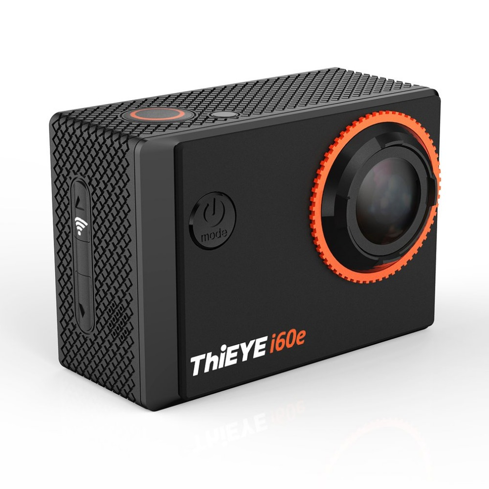 ThiEYE i60e Deep Waterproof WIFI 4K Camera 12MP 170 Degree Super Wide Angle 2.0 Inch Display S port Camera