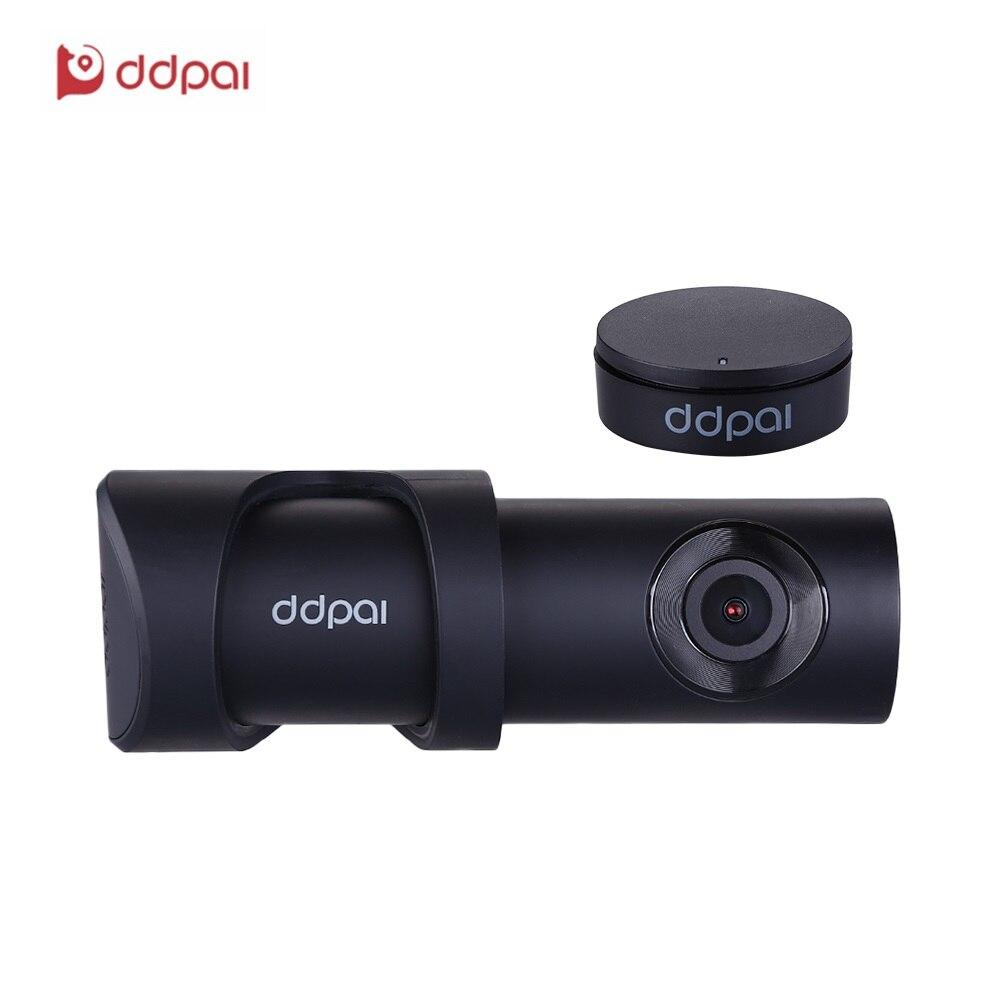 DDPai Mini3 1600 p Dash Cam Built-In 32g eMMC di Stoccaggio Auto DVR con F1.8 Apertura Registratore