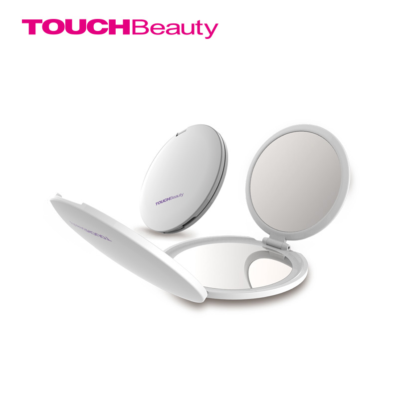 TOUCHBeauty 3-Panneled Foldable Makeup Mirror Cosmetic Mirrors Ultrathin 1x 2x 5x Portable Mirror TB-1471