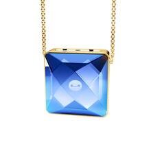 Подарок для девушек ионный персональный хрустальный ожерелье