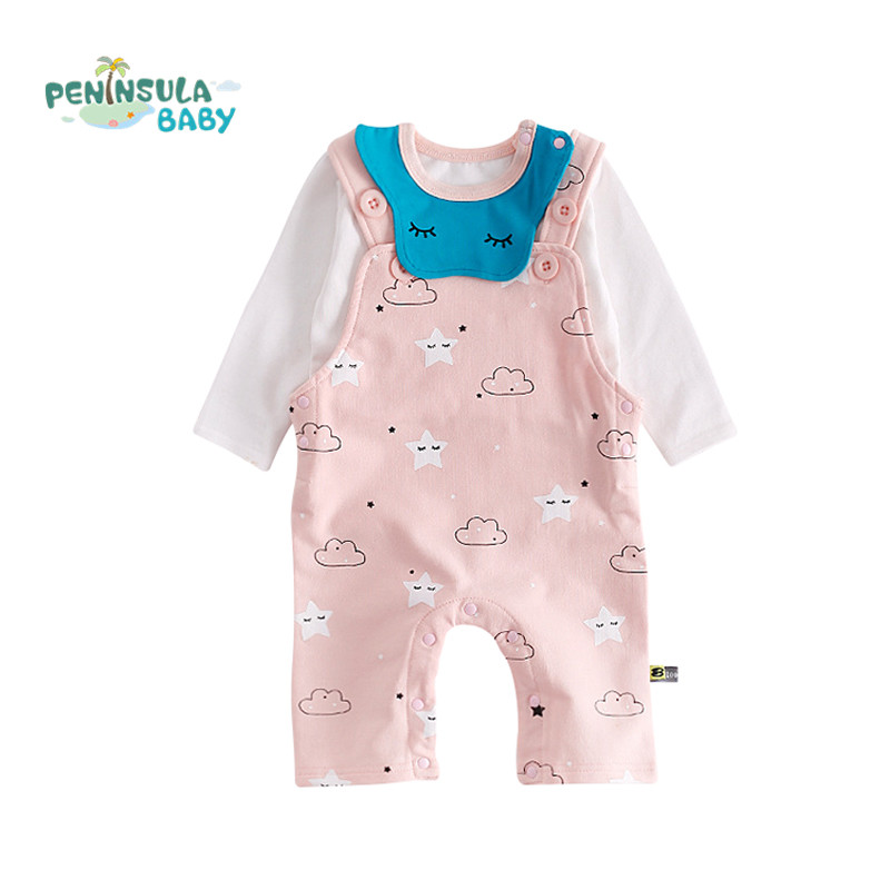 Autumn Baby Rompers Set Cartoon Clothing Set Winter Girls Boys Cotton Clothes Toddler Overalls Newborn Infant Jumpsuit sanlutoz baby rompers set newborn clothes baby clothing boys girls brand cotton jumpsuits long sleeve overalls coveralls winter