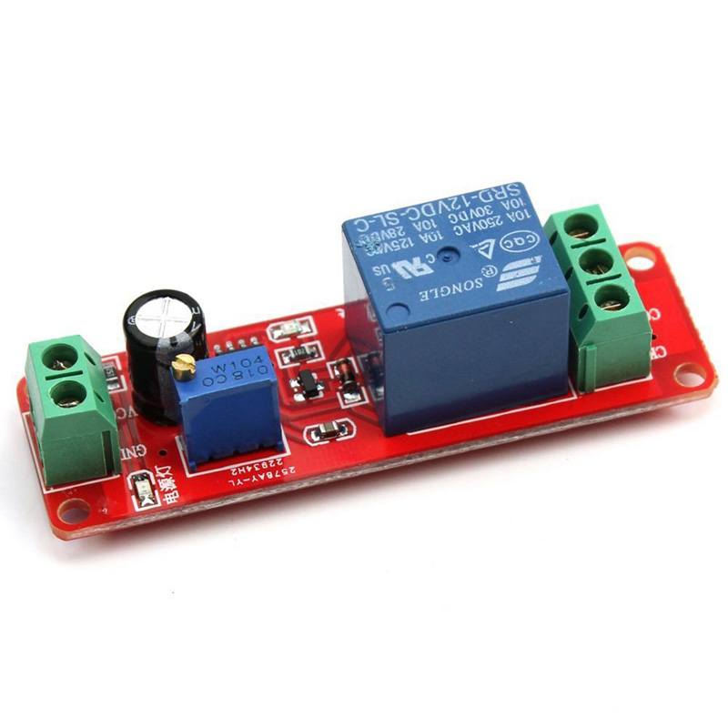 Dc12v Pull Delay Timer Switch Adjustable Relay Module 0