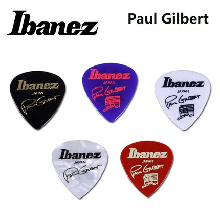 Ibanez Paul Gilbert Blue Signature Pick Plectrum Mediator ibanez 1000pgjb paul gilbert pick