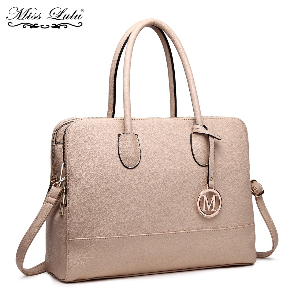 Miss Lulu Women Laptop Handbags Shoulder Bags Ladies Fashion
