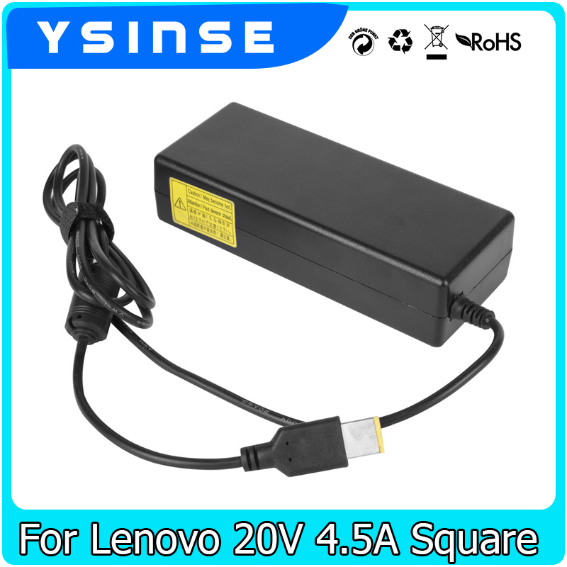 BINYEAE 20V 4.5A Laptop Ac Adapter Charger for Lenovo Notebook Thinkpad Yoga 2 Pro 11 13 G50 S431 T431S X240 X1 Carbon Edge E431 20v 3 25a 65w ac laptop power adapter charger for lenovo thinkpad x1 carbon lenovo g400 g500 g505 g405 yoga 13