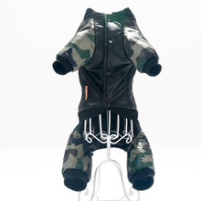 Super cool, warm & comfy FBI camo jacket / hoodie for puppies
