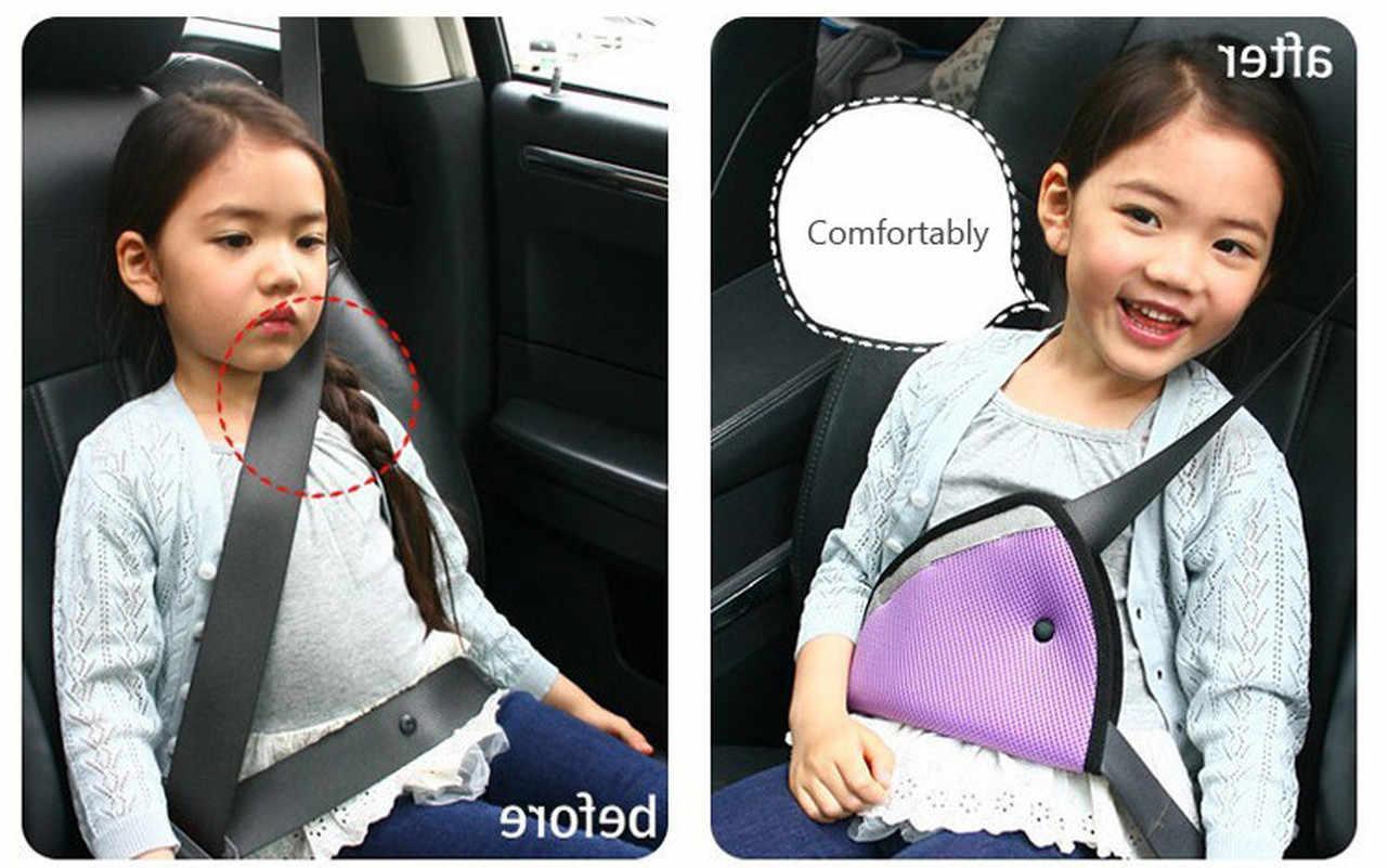 아기 자동차 안전 좌석 벨트 조절기 클립 액세서리 어린이 보호대 쿠션 벨트 보호대 짙어지면서 포지셔너 맞추기