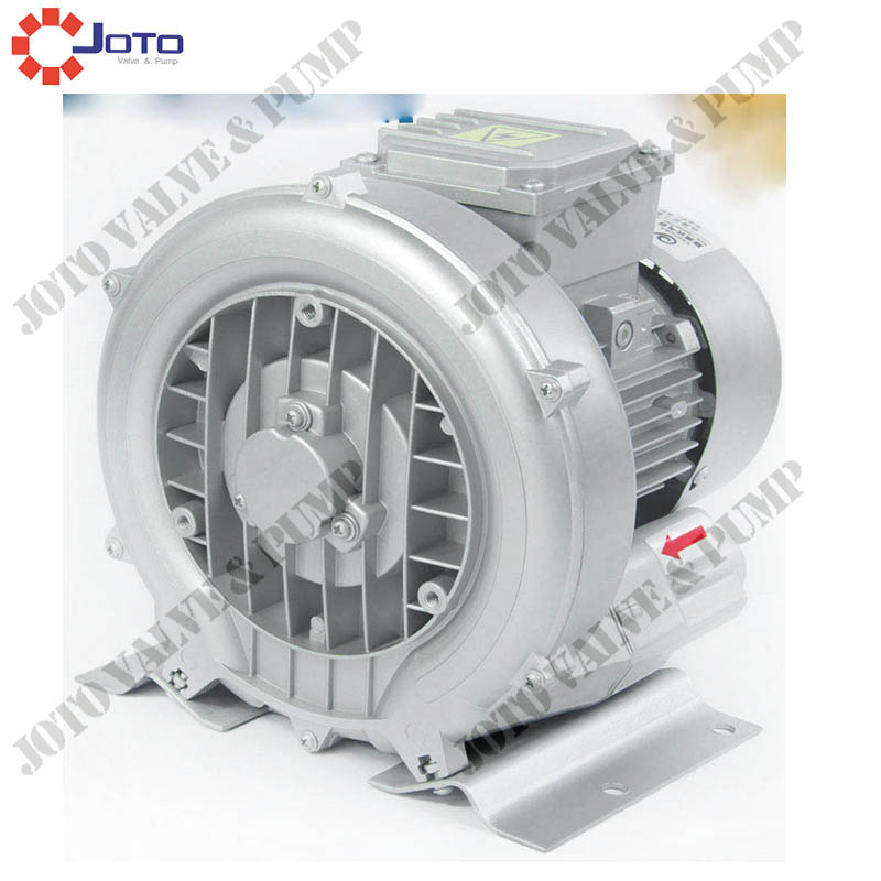 HG-120 220v 50hz Ring Blower 220V Air Pump CNC Router Vacuum Pump Vortex Pump