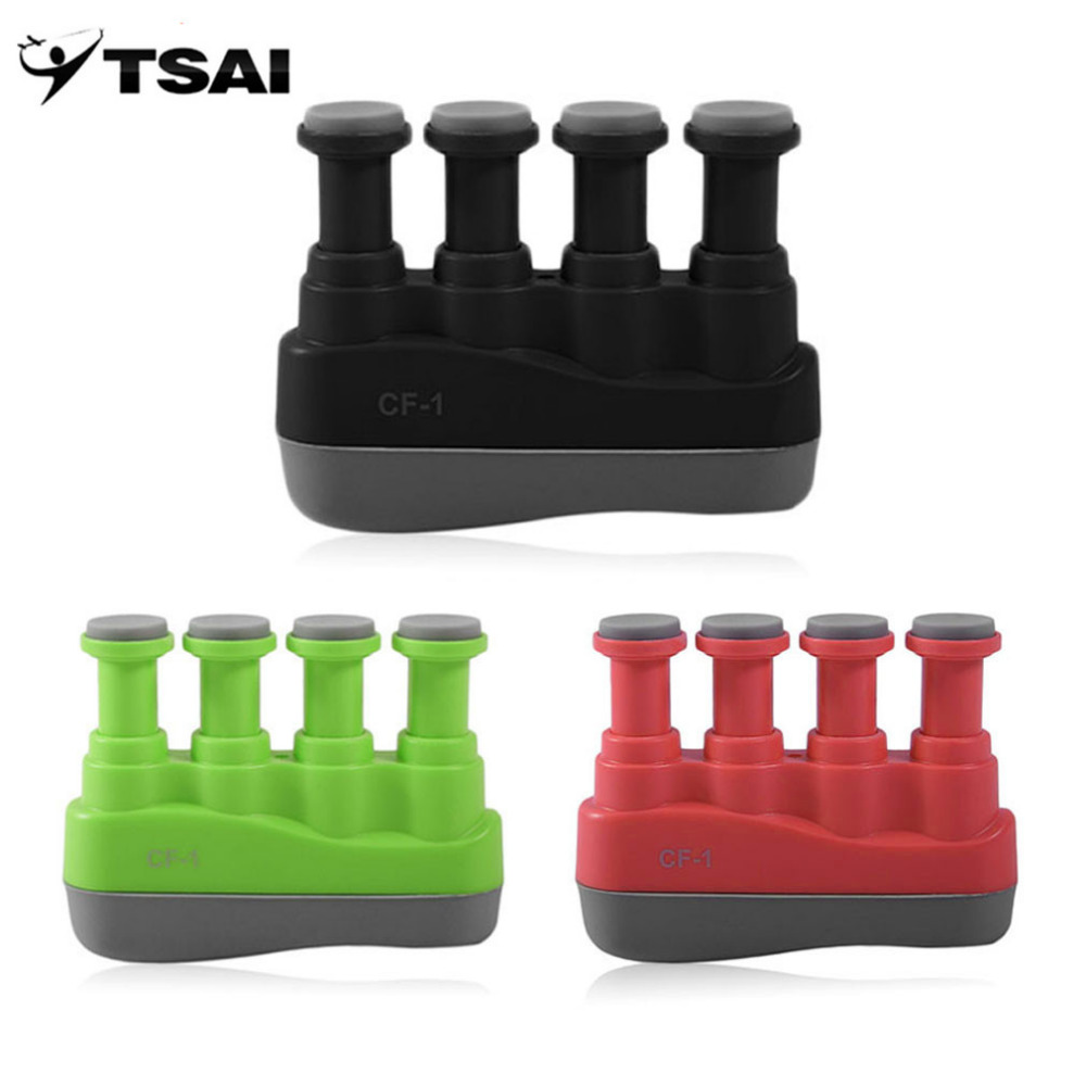 TSAI Guitar Bass Piano finger exercis Hand Etc Music Instrument popular for Finger Exerciser Tension Hand Grip Trainer Aroma New