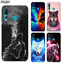 Starry animal wolf Soft Hull Shell Case For Huawei Nova 2 Plus 2S 3 3i 4 TPU Printed Pattern Riverdale Cover