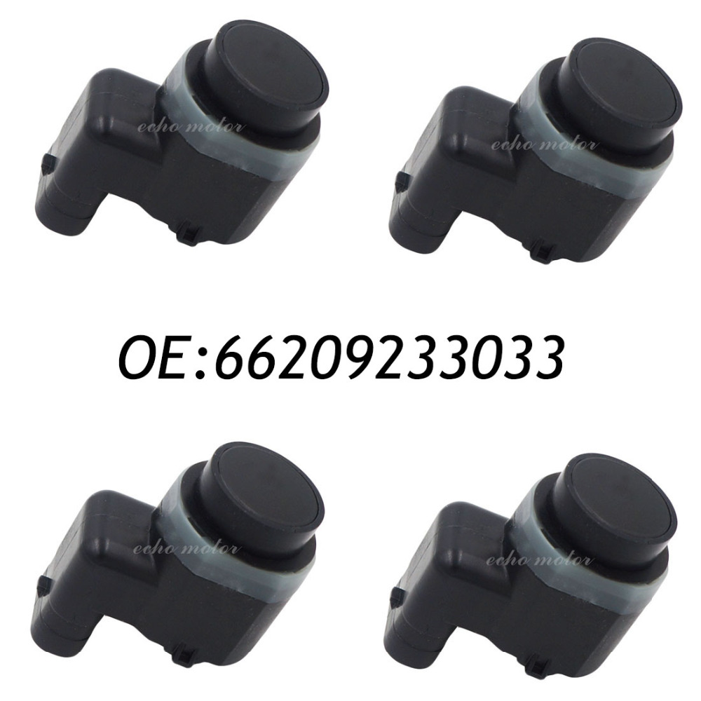 New 4pcs 66209233033 9233033  PDC Parking Sensor Bumper Object Reverse Assist Radar For BMW