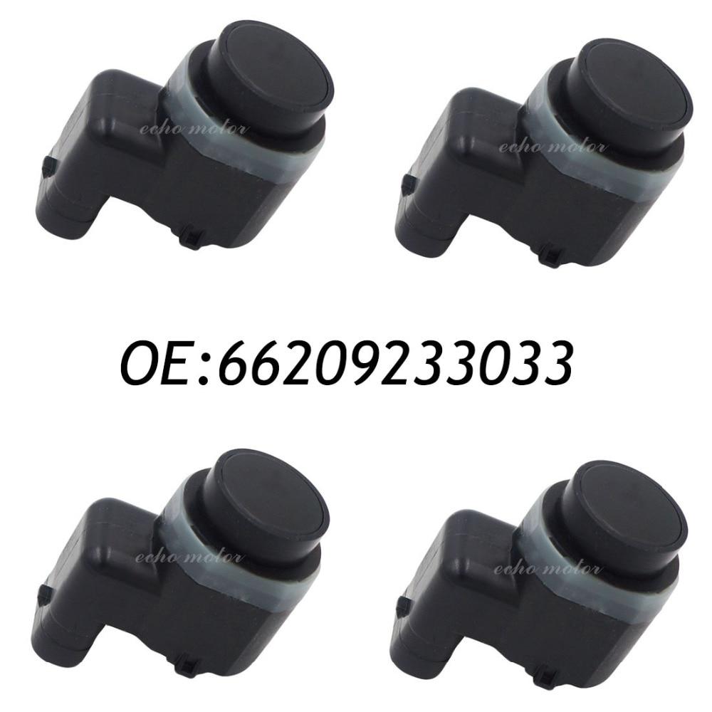 New 4pcs 66209233033 9233033  PDC Parking Sensor Bumper Object Reverse Assist Radar For BMW new set 4 9288230 pdc parking distance sensor reverse assist for bmw 0263013972