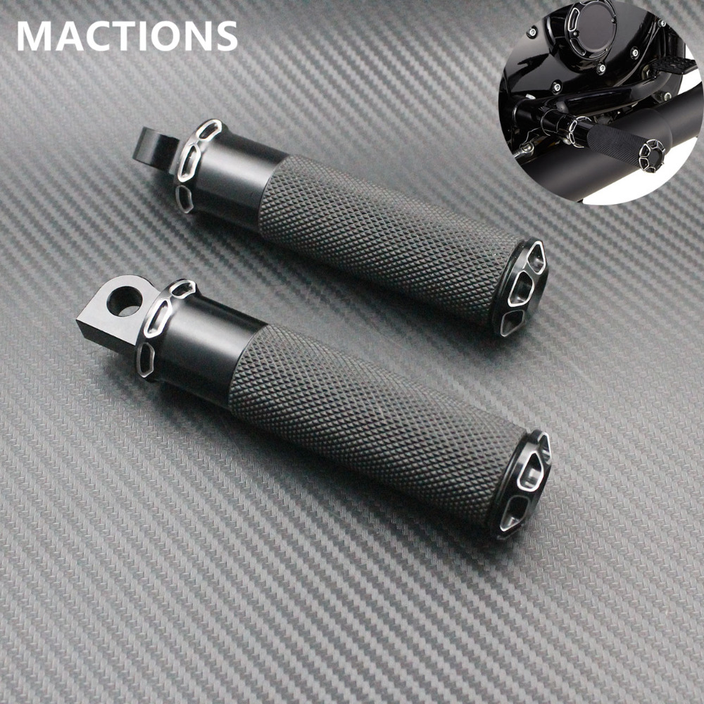 Motorcycle CNC Aluminum Foot Rest Pedal Footpeg Pedal For Harley Sportster 883 1200 Touring Dyna Softail