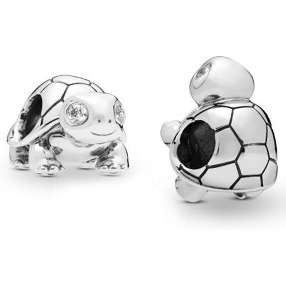 Bright Eyed Turtle Charm 100% Real 925 Sterling Silver Bright Eyed Turtle Charms Fit Pandora Bracelet Diy Jewelry 2019 SpringBright Eyed Turtle Charm 100% Real 925 Sterling Silver Bright Eyed Turtle Charms Fit Pandora Bracelet Diy Jewelry 2019 Spring