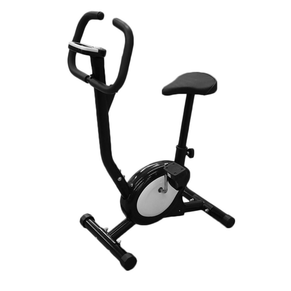 Hot Professional Home Electric Exercise Bike Cycling Machine People Health Recovery Cardio Aerobic Equipment Black and White genuine leap brand refrigeration tools over the mini cylinder refrigerant recovery machine vrr12l refrigerant recovery machine