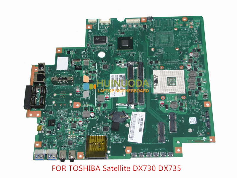 NOKOTION SPS T000025060 motherboard for toshiba satellite DX730 DX735 laptop main board Intel HM65 HD3000 DDR3 nokotion genuine h000064160 main board for toshiba satellite nb15 nb15t laptop motherboard n2810 cpu ddr3