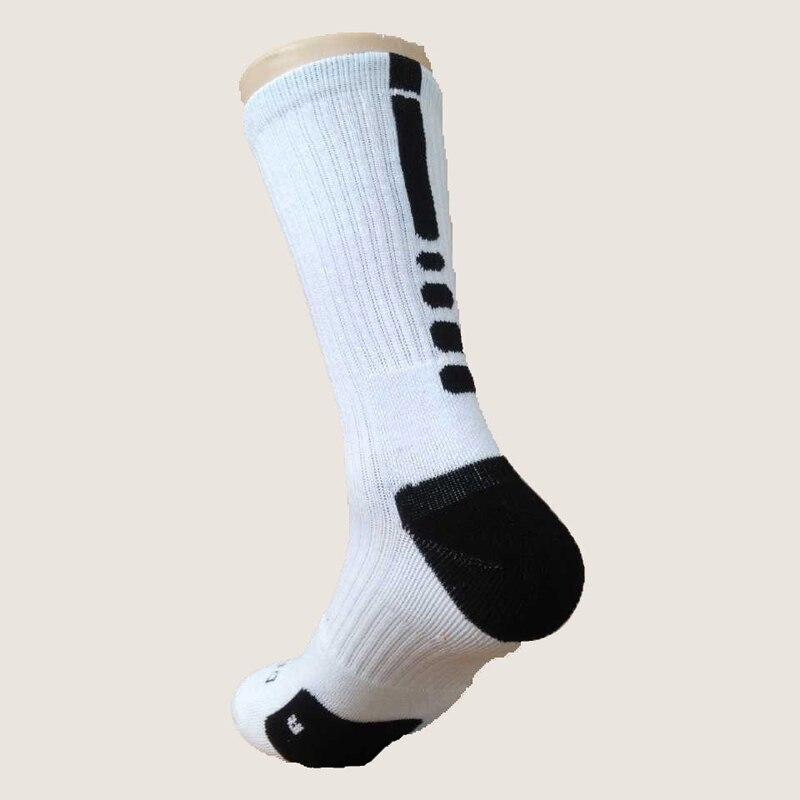Новые Элитные Носки мужские длинные носки мужские утолщенные Носки мужские носки Meias Masculinas - Цвет: White And Black