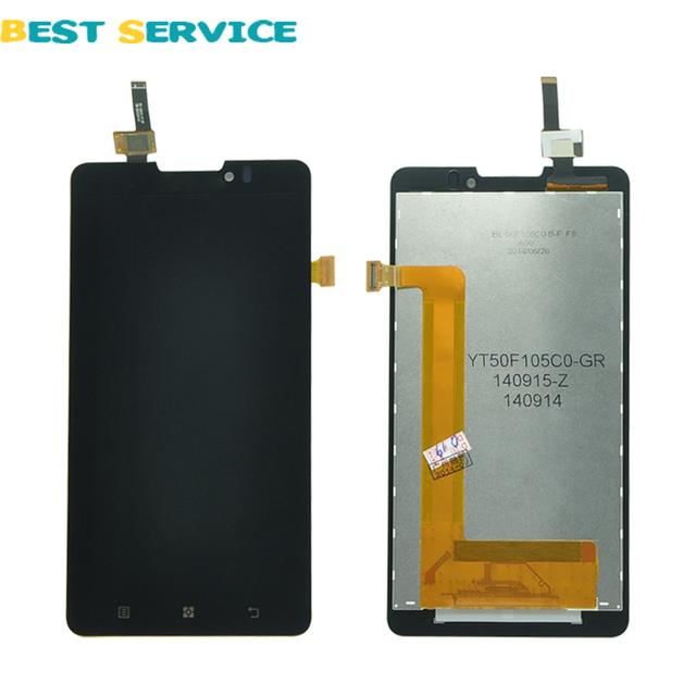 Para lenovo p780 display lcd com tela de toque digitador assembléia + ferramentas frete grátis