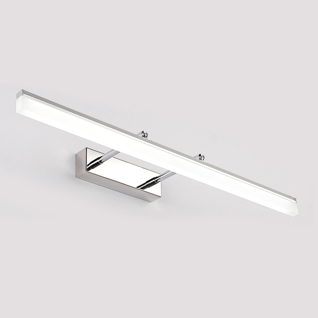 LED Wall light Bathroom Mirror Lamp warm white /white washroom wall Lamp fixtures acrylic 9W 40CM/ 12W 50CM makeup mirror light 4