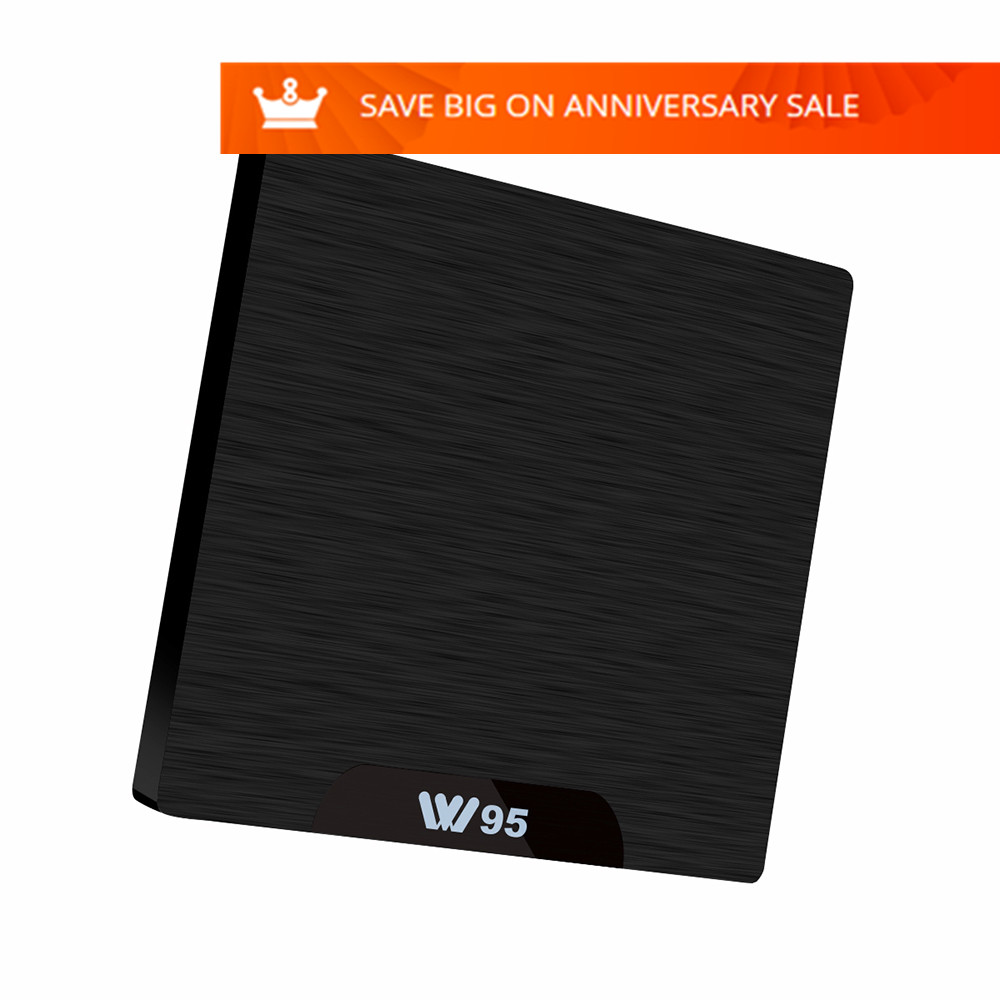 Mesuvida W95 TV Box Amlogic S905W Quad Core 2.4GHz WiFi Android 7.1 HDMI 2.0 4K HD Smart Set Top Box 1G RAM 8G Media Player new k1 plus s2 t2 android 5 1 tv box amlogic s905 set tv box 4k hd 1g 8g quad core stb wifi media player free shipping