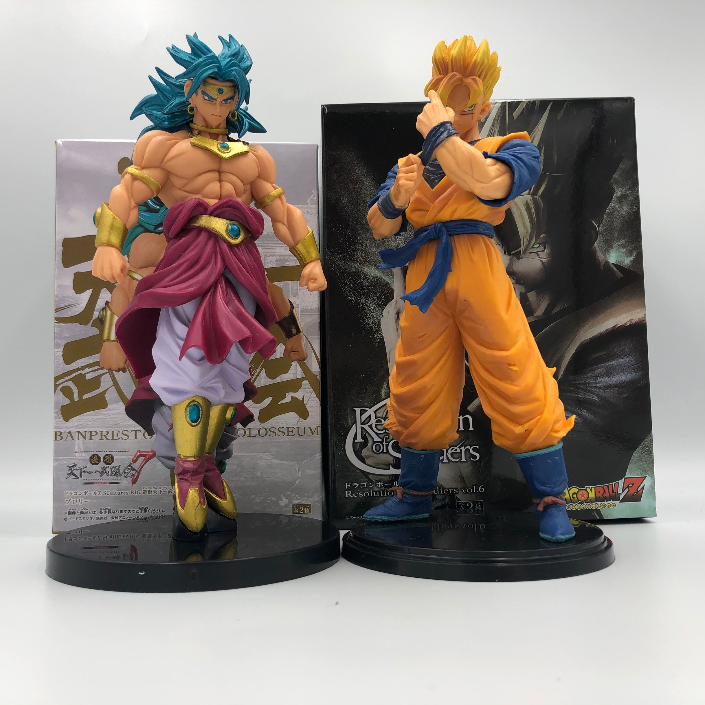 Action & Toy Figures Purposeful 21 Cm Brolly Dragon Ball Z Broly Gohan Toy Figure Super Saiyan Anime Dbz Tenkaichi Budokai Toy Collectible Highly Polished