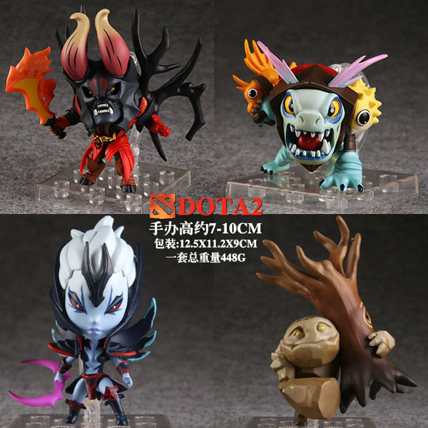 "Aliexpress.com : Buy Free Shipping 4pcs Cute 3 4"" DOTA 2"