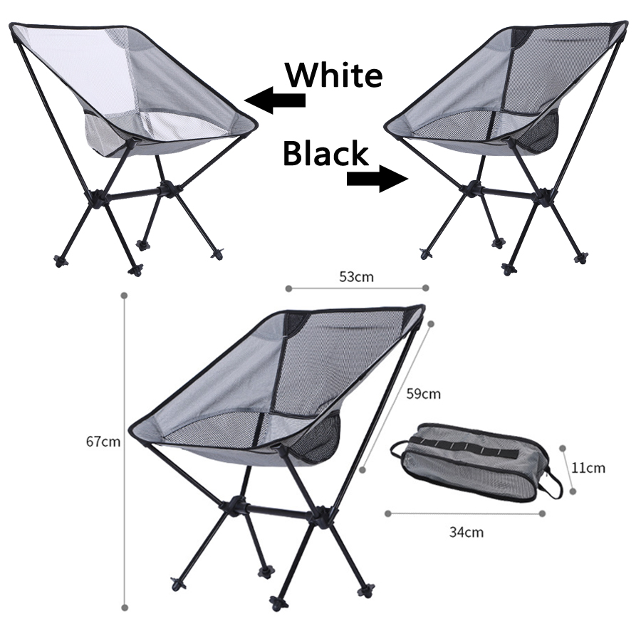 Fishing Portable Fishing Chair Folding Seat Stool Backrest Chair For Camping Hiking Gardening Beach Picnic Bag Pouch Fish Tackle Pesca
