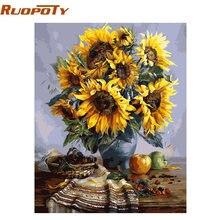 Ruopotydiy рамка diy Краска для рисования по номерам Настенная