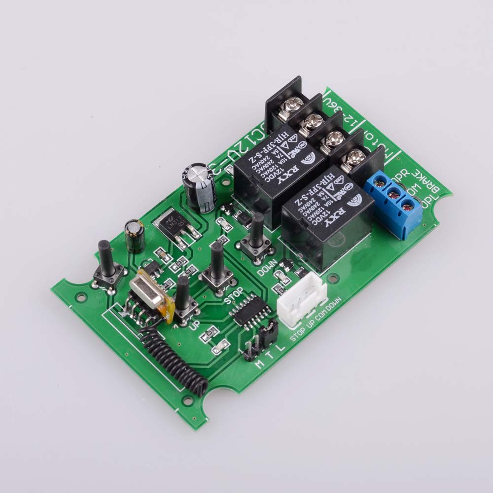 Image 4 - DC/AC 12V 24V 36V Motor Manual Controller Remote Control Motor 60W Motor Forwards Reverse Up Down Stop with Limit SwitchSwitches   -