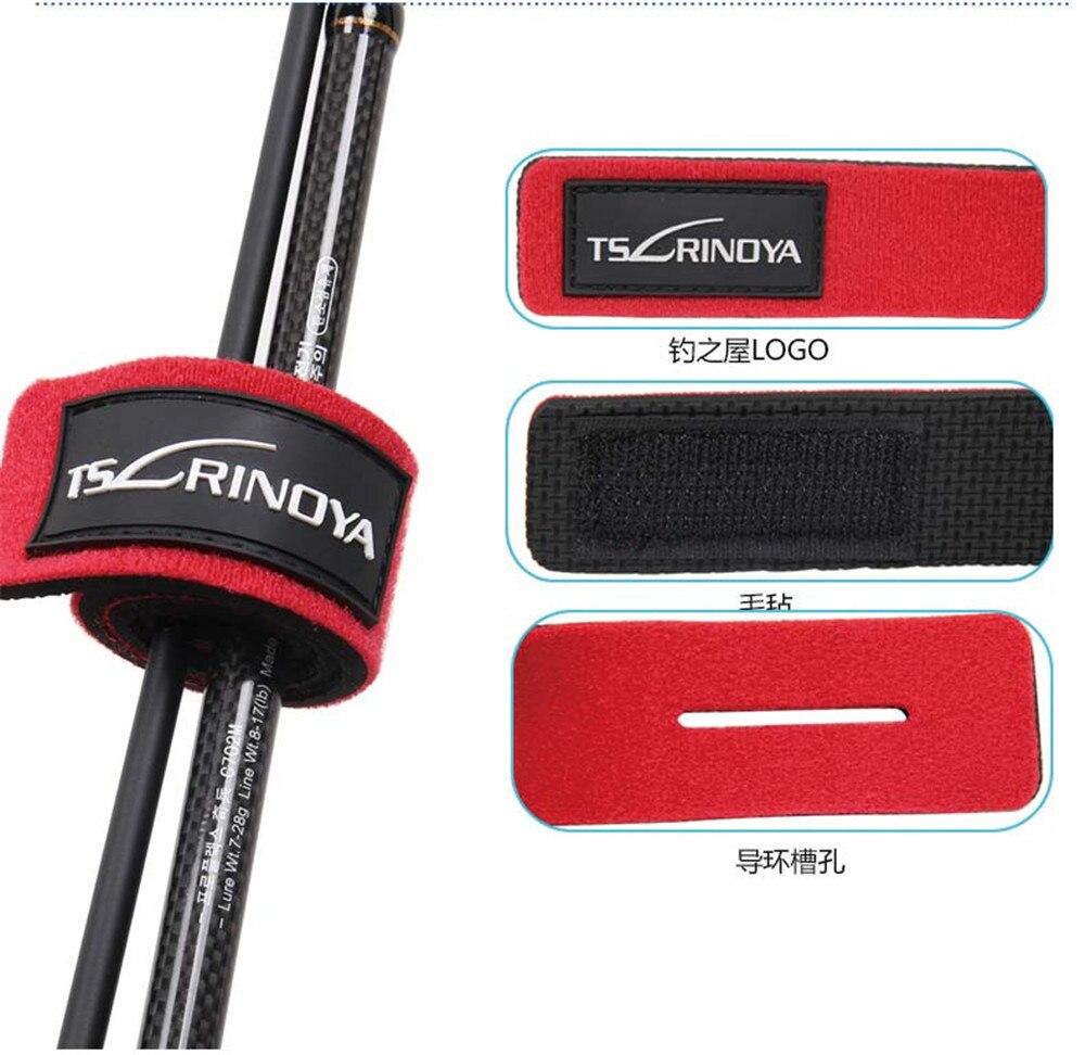 Colorful Durable 5 colors Fishing Rod Tie 2 PCS/Lot Fishing Rod ...
