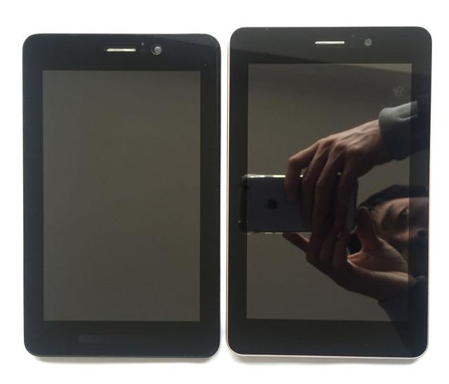 Para asus fonepad 7 me371 me371mg k004 tela sensível ao toque completa Tela painel de Digitador de Vidro + Display LCD com quadro livre grátis