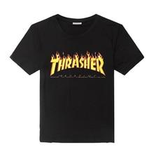 Мужская одежда thrasher t Shirt Men