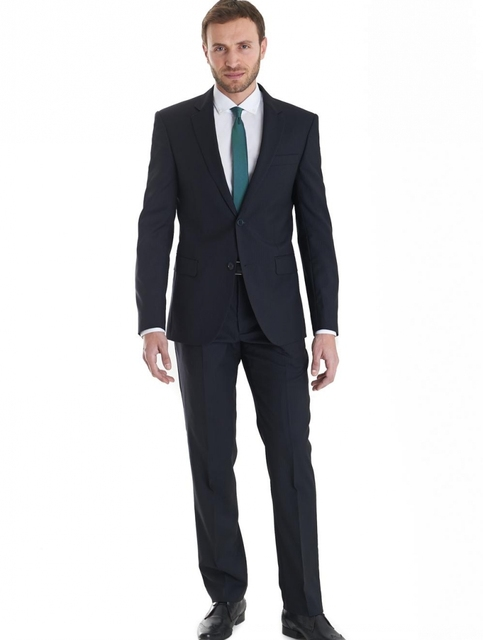 2017 New Arrival Mens Suit  Clasic Style Slim Fit Single-breasted  Suit Custom Made Wedding Groom Tuxedos (Jackets+ Pants )