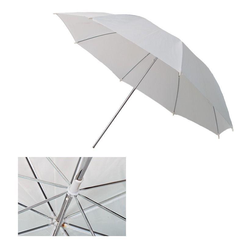 4 in 1 Flash kit 33 Black/Silver + Photography translucent Umbrella +195cm 302 light stand+bracket B