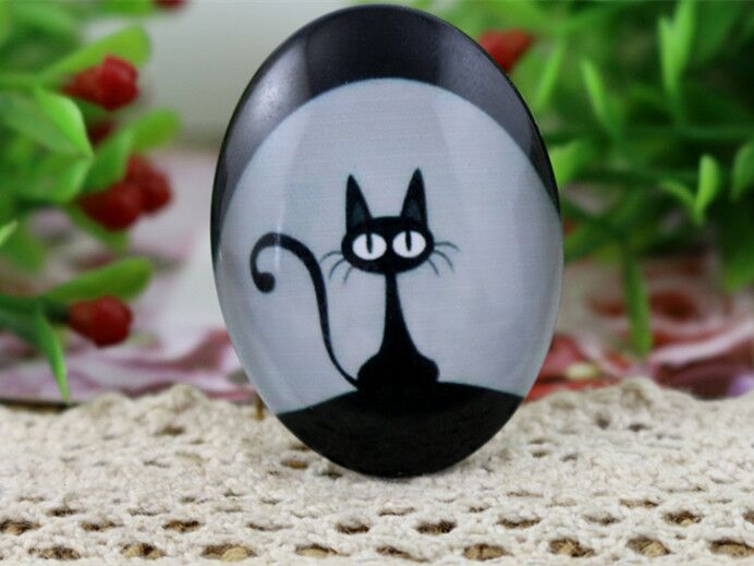 2pcs 30x40mm Handmade Photo Glass Cabochons   (I3-12)2pcs 30x40mm Handmade Photo Glass Cabochons   (I3-12)