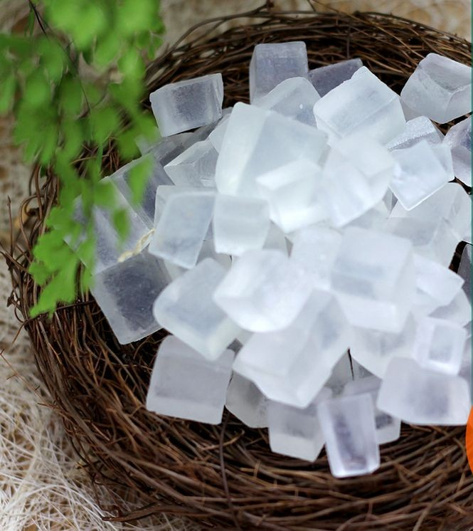 Transparent  Handmade Soap Base Making Natural Skin Care Raw Material 250g High Quality